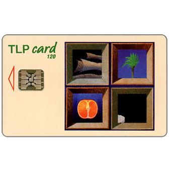 Phonecard for sale: TLP - Painting by Antonio Pimentel, l'Arrivee, 120 units