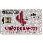 The Phonecard Shop: Portugal, TLP - Uniao de Bancos Portugueses, 50 units