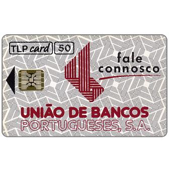 Phonecard for sale: TLP - Uniao de Bancos Portugueses, 50 units