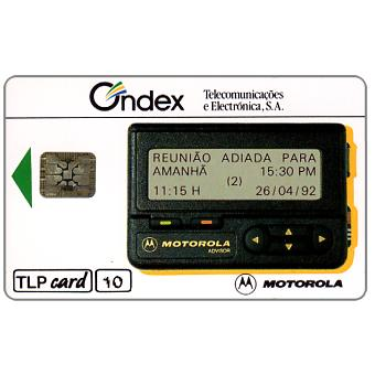 Phonecard for sale: TLP - Ondex - Pagers, 10 units