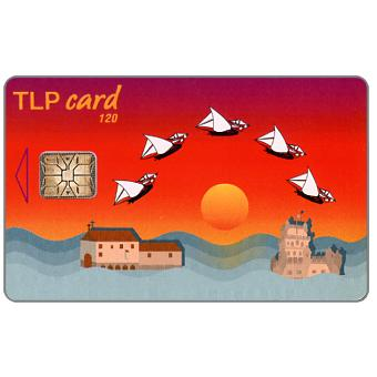 Phonecard for sale: TLP - Sailboats, 120 units