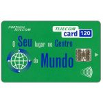 The Phonecard Shop: Portugal Telecom - O seu lugar no centro do mundo, 120 units