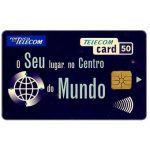 The Phonecard Shop: Portugal Telecom - O seu lugar no centro do mundo, 50 units