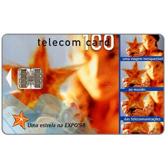 Portugal Telecom - Expo '98, starfish, 100 units