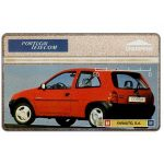 Phonecard for sale: Portugal Telecom - Opel Corsa red, 50 units