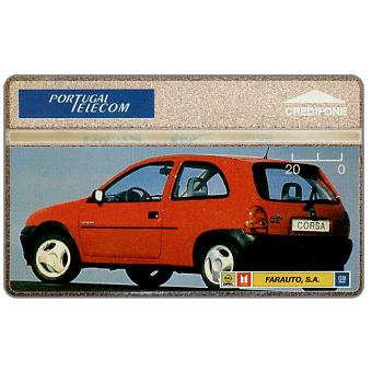 Portugal Telecom - Opel Corsa red, 20 units