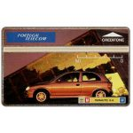 Phonecard for sale: Portugal Telecom - Opel Corsa gold, 50 units
