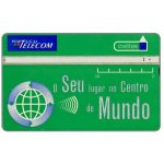 Phonecard for sale: Portugal Telecom - O seu lugar no centro do mundo, 50 units