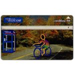 Phonecard for sale: Portugal Telecom - Bicycle, 50 units