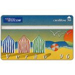 The Phonecard Shop: Portugal Telecom - Summer 96 puzzle 1/2, 50 units