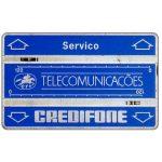 """The Phonecard Shop: Portugal, CTT Telecomunicações - Service card """"Servico"""", code 108L, 240 units"""