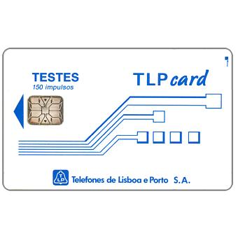 "Phonecard for sale: TLP - Test card ""Testes"", 150 units"