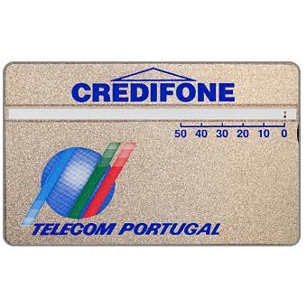 Phonecard for sale: Telecom Portugal - Definitive, code 145D, 50 units