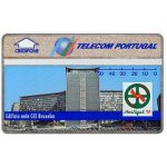 The Phonecard Shop: Telecom Portugal - Portugal 92, CEE building in Bruxelles, 50 units