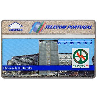 Telecom Portugal - Portugal 92, CEE building in Bruxelles, 50 units