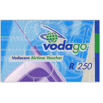 Phonecard for sale: Vodacom - Vodago Airtime voucher, R250