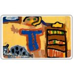Phonecard for sale: Telkom - Child art, Drawing 4, R20