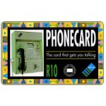 The Phonecard Shop: South Africa, Telkom - Wall Telephone, R10
