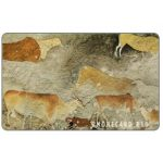 The Phonecard Shop: Telkom - Prehistoric Bushman Wall Painting, Puzzle 2/4, code TNAB, R10