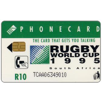 Phonecard for sale: Telkom - Rugby World Cup 1995, mascot, R10