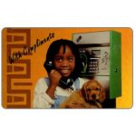 The Phonecard Shop: South Africa, Telkom - Wandering Girl, complimentary 10 units