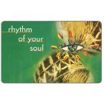 The Phonecard Shop: South Africa, Telkom - Musical Instruments, first issue, Rhytm of your soul 3, R10