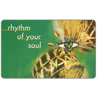 Telkom - Musical Instruments, first issue, Rhytm of your soul 3, R10