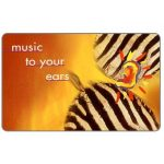 The Phonecard Shop: South Africa, Telkom - Musical Instruments, first issue, Music to your ears 1, R20