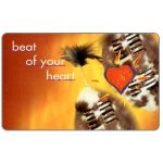 Phonecard for sale: Telkom - Musical Instruments, second issue, Beat of your heart 1, no expiry date, R20
