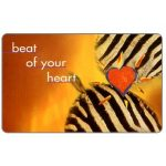 The Phonecard Shop: South Africa, Telkom - Musical Instruments, second issue, Beat of your heart 2, expiry date 2000/02, R20