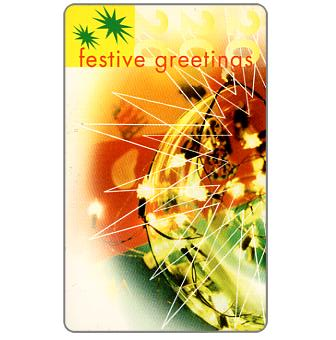 Telkom - Christmas 1997, Festive Greetings, R20