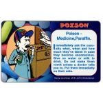 The Phonecard Shop: South Africa, Telkom - St.John Ambulance, Poison, R10