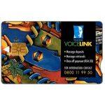 The Phonecard Shop: South Africa, Telkom - Telkom VoiceLink, expiry date 2001/05, R20