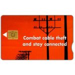 The Phonecard Shop: South Africa, Telkom - Combat Cable Theft, R15