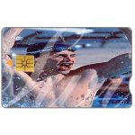 Phonecard for sale: Telkom - Olympics 2000, swimmer 1, R15