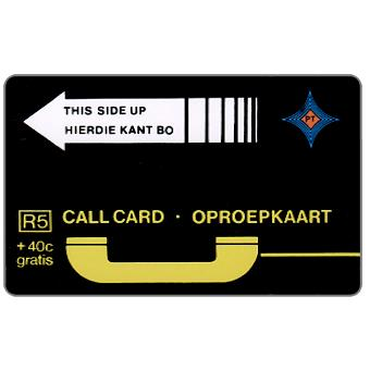 Phonecard for sale: PT Trial cards - First issue, no notch, A0+5 digits at bottom, R5