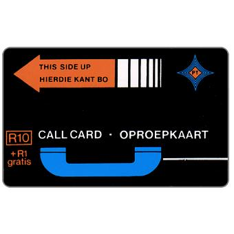 The Phonecard Shop: PT Trial cards - First issue, no notch, A0+5 digits at bottom, R10