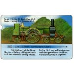 Phonecard for sale: PT Trial cards - Stirling Train, deep notch, R10