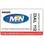 The Phonecard Shop: South Africa, MTN - Dial 112, Trial card, R7,5
