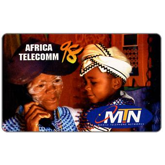 Phonecard for sale: MTN - Africa Telecomm 98, Complimentary card
