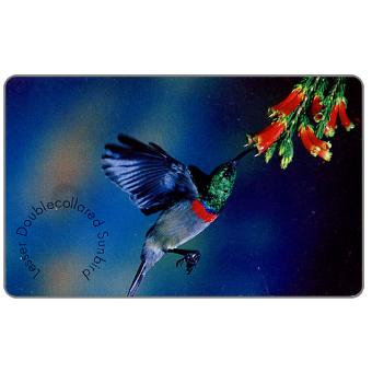 Phonecard for sale: MTN - Birds of Africa, Doublecollared Sunbird, R15