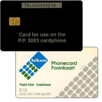Phonecard for sale: Telkom - Field trial TMSA, R10
