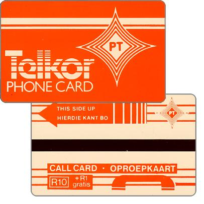 Phonecard for sale: Telkor - Test card, PT logo, R10