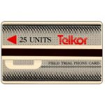 The Phonecard Shop: South Africa, Telkor - Field trial, 25 units