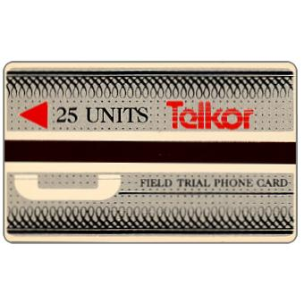 Phonecard for sale: Telkor - Field trial, 25 units