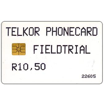 Phonecard for sale: Telkor - Field Trial, R10,50