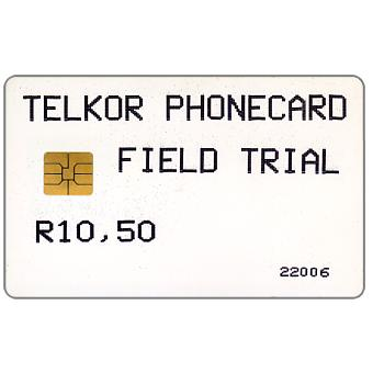 The Phonecard Shop: Telkor - Field Trial, R10,50
