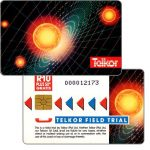 The Phonecard Shop: Telkor - Field Trial, Solar System, CN: 0 + 8 digits, R10
