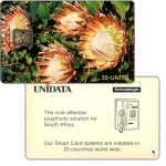 The Phonecard Shop: Unidata - Test card, Proteas, 35 units