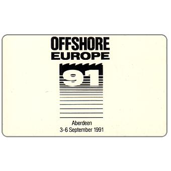 Phonecard for sale: International Payphone Ltd Scotland - Offshore Europe 91, 50 units